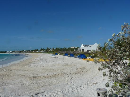 Grand Isle Resort & Spa: The beach from the access