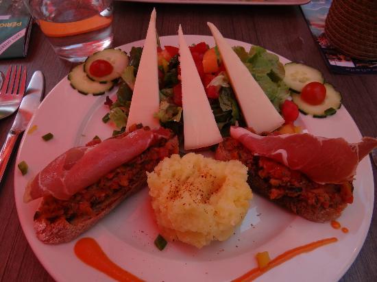 Côté Noix: le plat basque