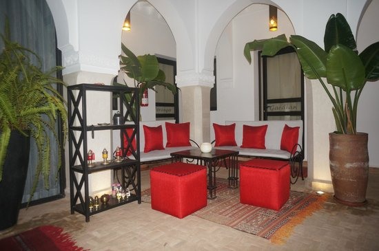 Riad Shanima & Spa: Patio