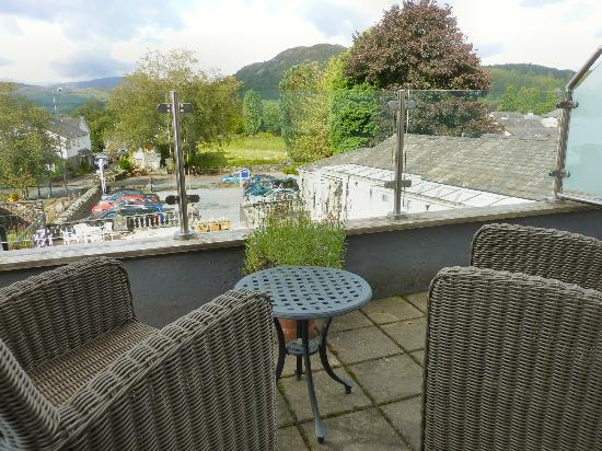 The Fisherbeck: Our balcony