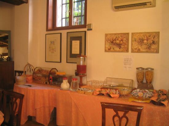 Locanda La Corte: Petit déjeuner buffet