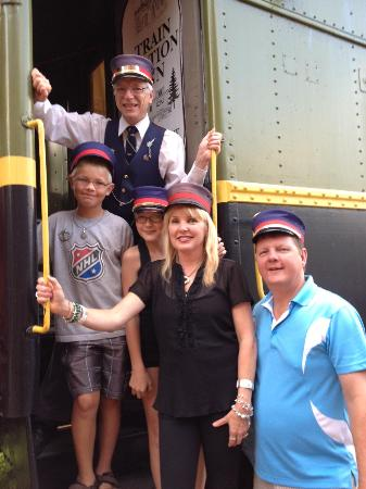 Train Station Inn : All aboard with Conductor James