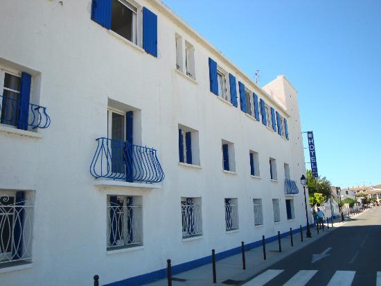 Hotel le Mirage : Facade