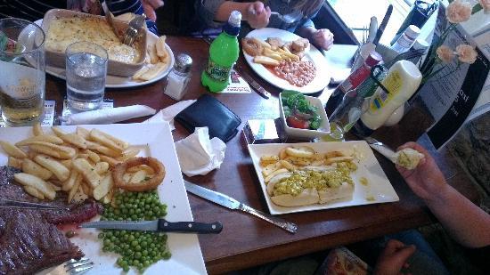 Eagle Inn: our four meals