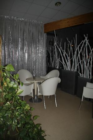 Hotel Le President: petit salon pour lecture ou autre