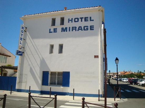 Le Mirage : Facade