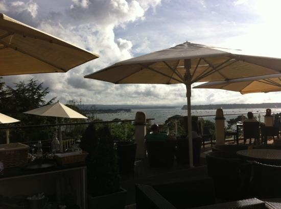 Harbar Bistro: view from the terrace