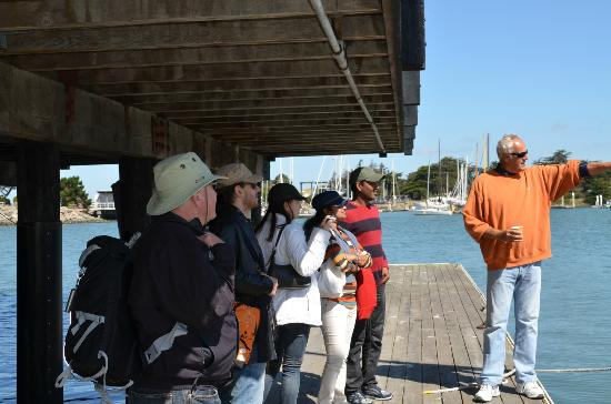 Imagine Sailing Tours: Safety Demo Before Boarding