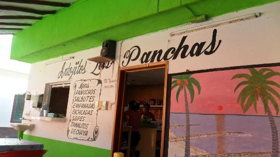 Las Panchas: La Panchas el mejor lugar de Holbox para comer con poco o mucho presupuesto