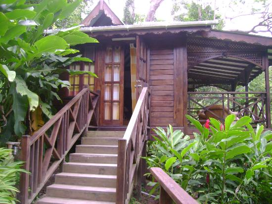 Fond Doux Plantation & Resort: Outside Cottage