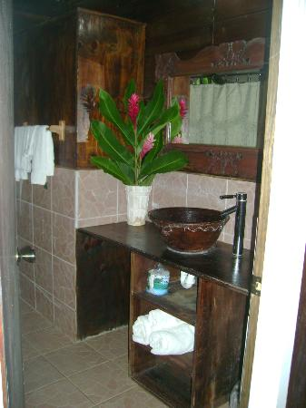 Fond Doux Plantation & Resort : Bath room