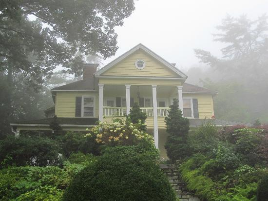 The Yellow House on Plott Creek Road: Early morning at the Yellow House