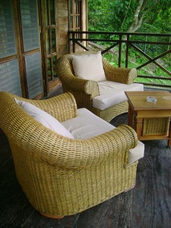 Fond Doux Plantation & Resort : Porch
