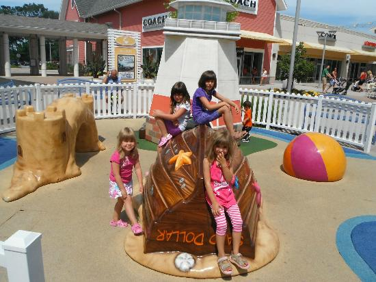 Parc pour enfants Jersey Shore Premium Outlets