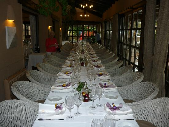 Restaurante Masena : The party table