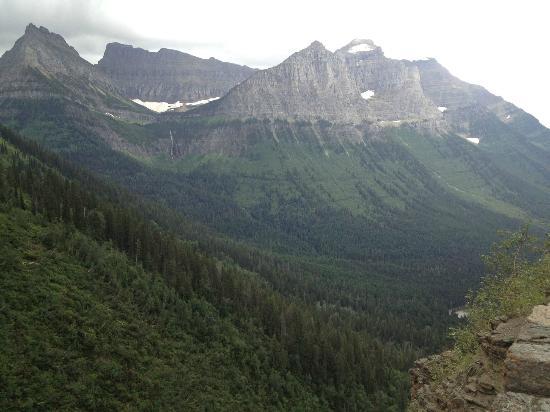 Lake Five Resort: View in Glacier Natl Park