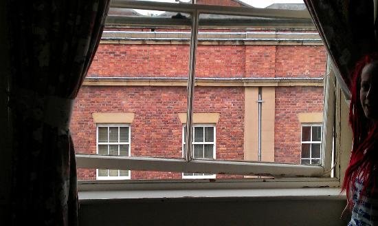 Commercial Hotel: The wonky window