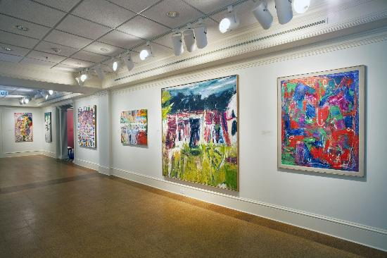 Morris Museum of Art: Contemporary Art of the South Gallery