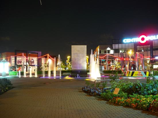 Centropolis at night