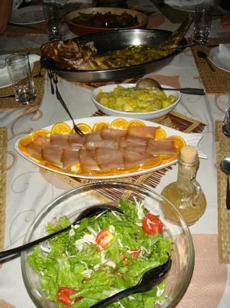 Chez Lorna: delicieux repas concocté par Lorna