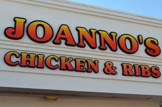 Joanno's Chicken and Ribs: Joanno's Sign