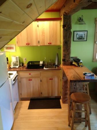 Sheady Acres Rental Cottages: kitchen area in the Irish Farmhouse