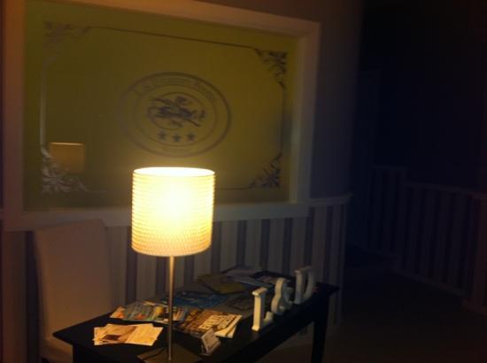 L & D Luxury Rooms : ingresso b&b soft