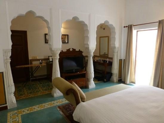 Samode Haveli: Hotel room