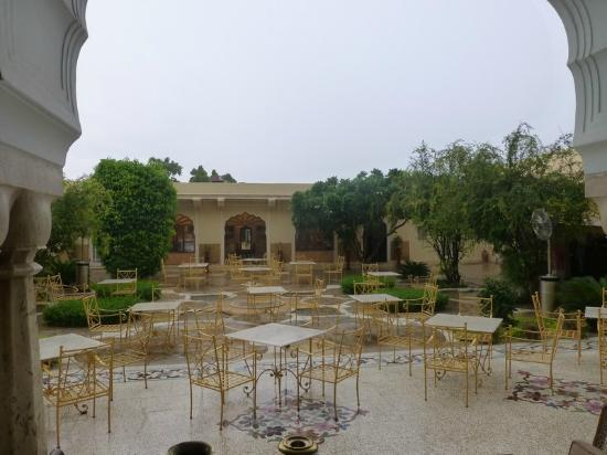 Samode Haveli: Courtyard area