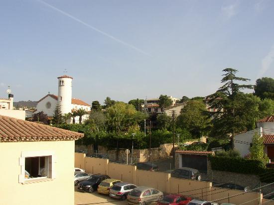 Hotel Spa La Terrassa : view from balcony
