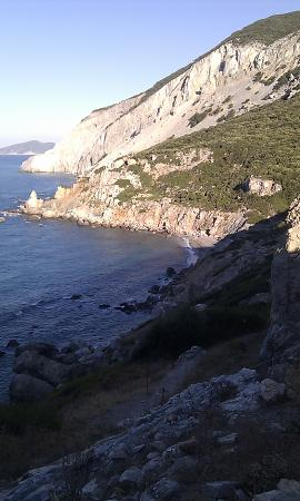 Il Kastro: view while walking