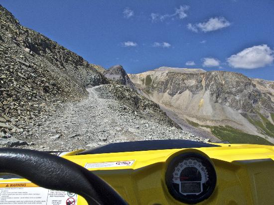 Ride-N ATV Adventures: The ride up Imogene Pass in a RAZOR