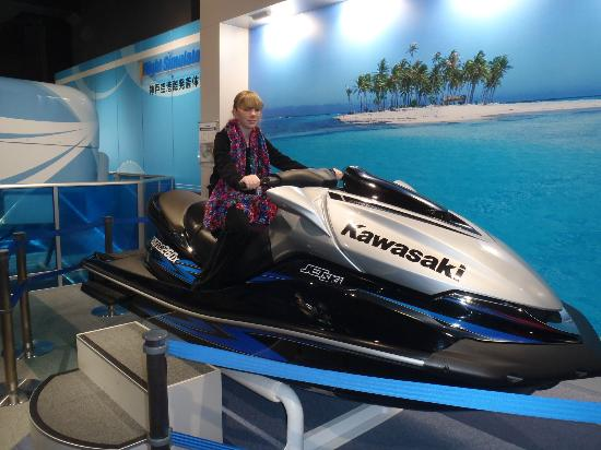 Kawasaki Good Times World : Tanja on Jetski