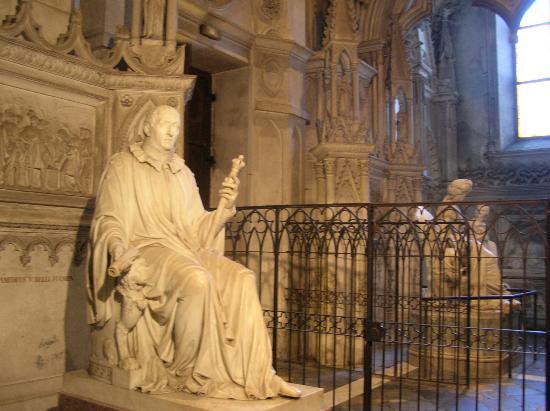 Aix-les-Bains, ฝรั่งเศส: interno abbazia