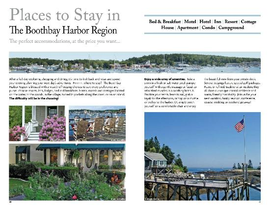 Harbour Towne Inn on the Waterfront: Featured in the Chamber of Commerce Book.