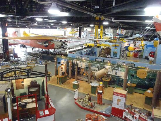 Canadian Bushplane Heritage Centre: From the top