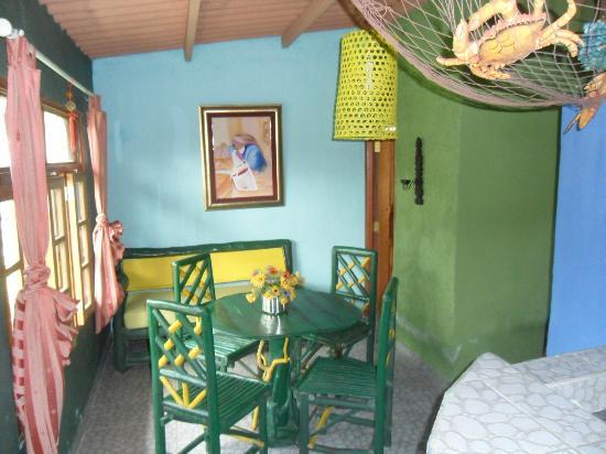 Cabanas de Colores: Inside Cabin # 4