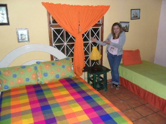 Cabanas de Colores: Inside of Cabin # 4