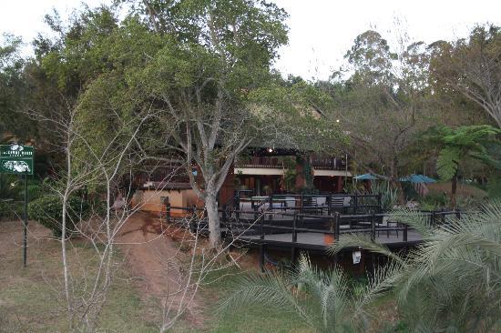 aha Greenway Woods Resort: Vista desde el patio
