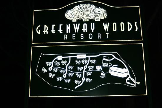 aha Greenway Woods Resort: Mapa