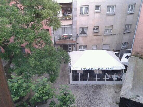 Apartamentos El Cordial de Fausto: vista desde la cocina comedor