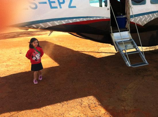 Royal Madikwe Luxury Safari Lodge : Our little chartered plane