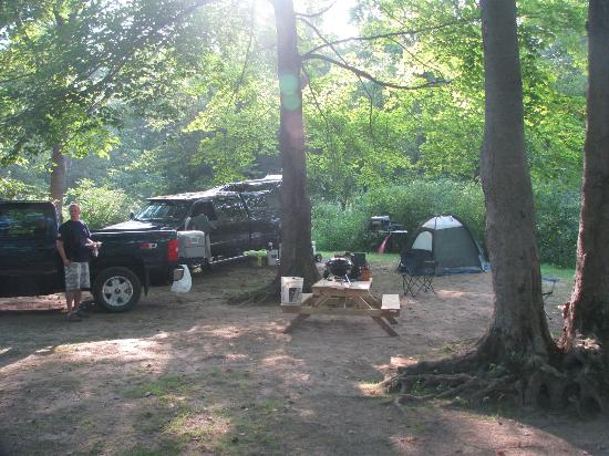 Cozy Creek Family Campground: Large Tent Site #14