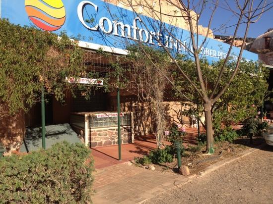 Comfort Inn CooberPedy Experience : verandah