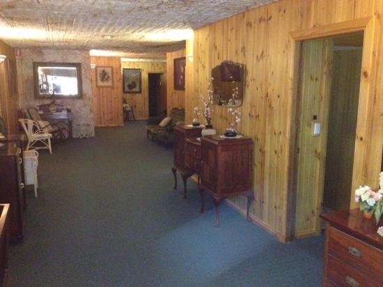 Comfort Inn CooberPedy Experience: main corridor