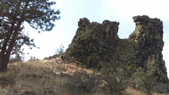 Thorp, WA: Castle rock