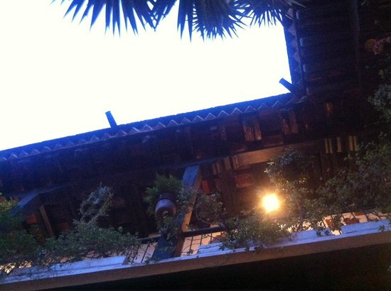 Dona Luisa Xicoteneatl : The patio is a nice place to relax