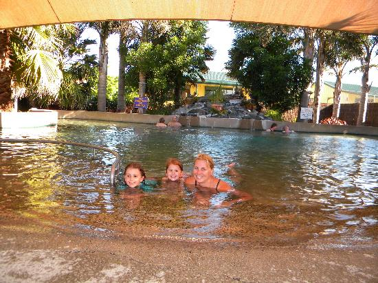 Miranda Holiday Park: Guest Hot Mineral Pool