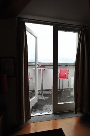Terrace in Casa Rossa Room 12 - Picture of Albergo Milano, Varenna ...