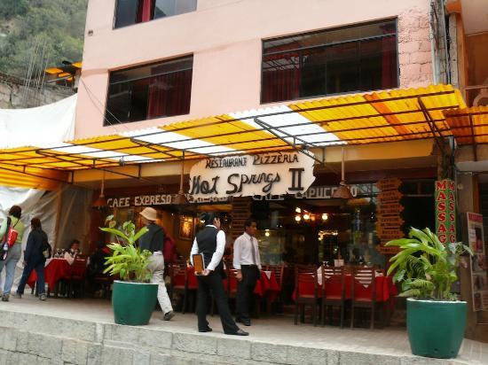 Hot Springs Restaurant and Pizzeria: Hot Springs II Restaurant, as distinguished from Hot Springs Restaurant